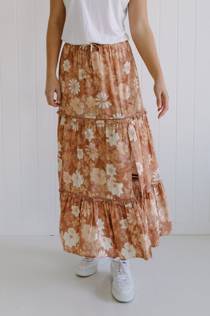 women's floral lost love skirt