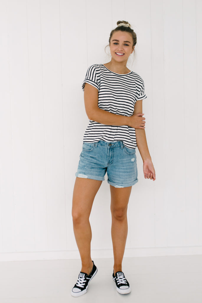 Jenna Denim Shorts