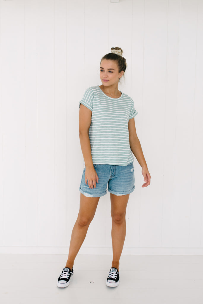 Oscar Tee - Mint|  | Betty Lane Womens Clothing Victoria