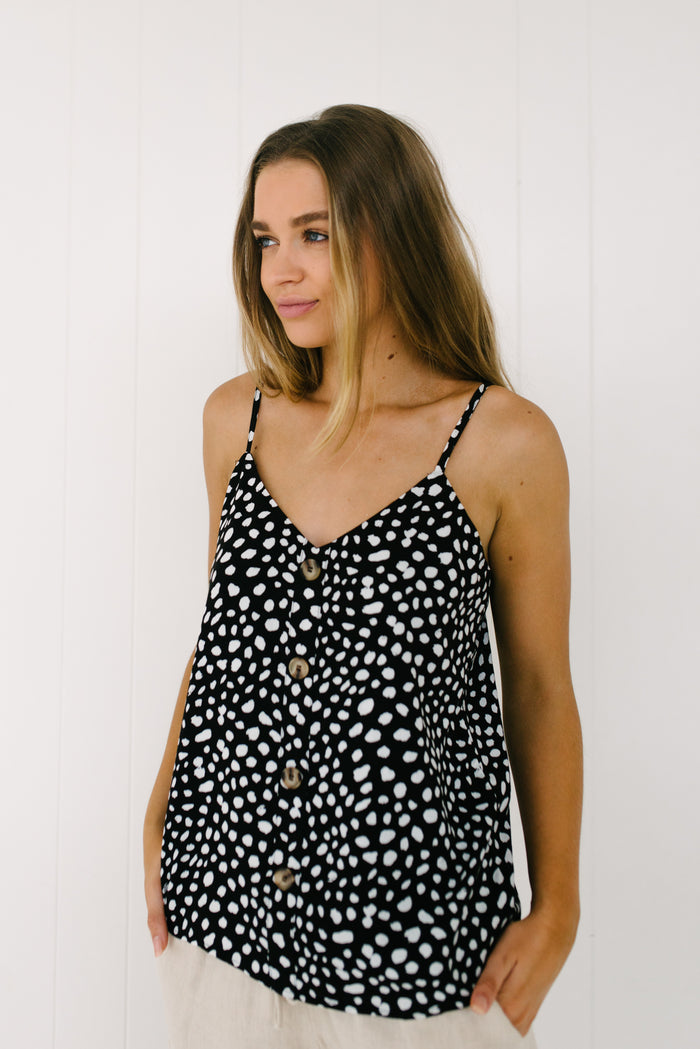 Callie Cami - Black|  | Betty Lane Womens Clothing Victoria