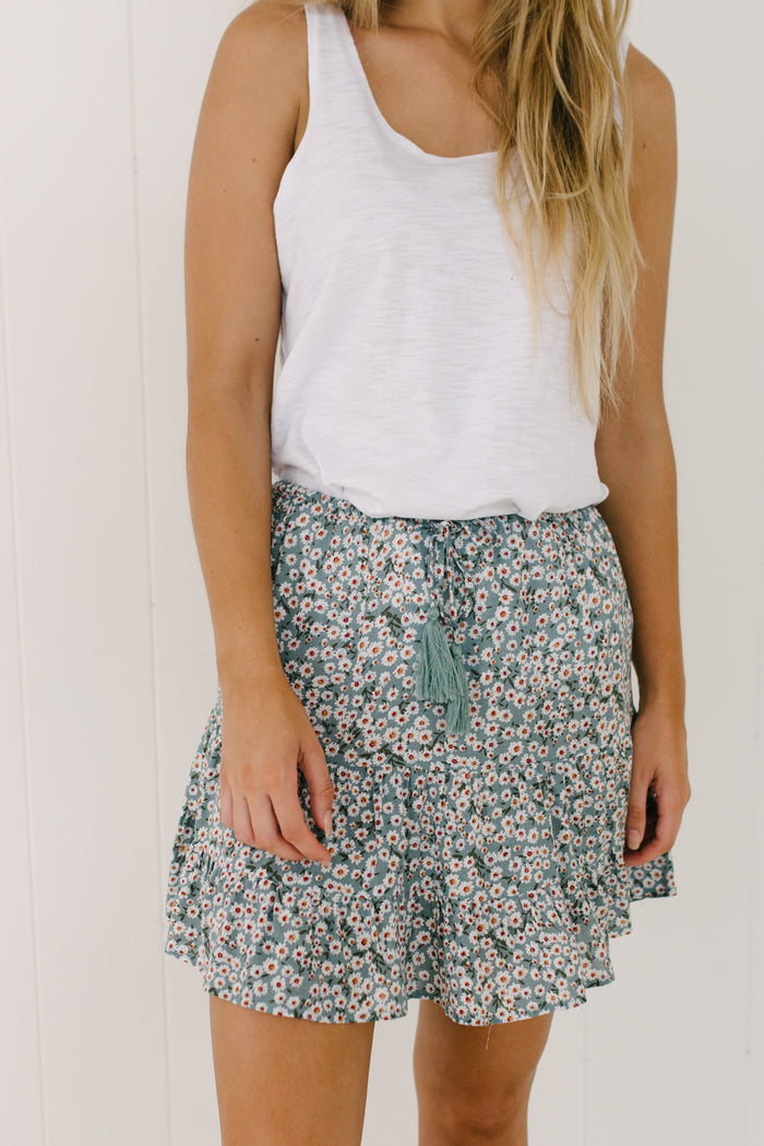 Fields Skirt - Sage
