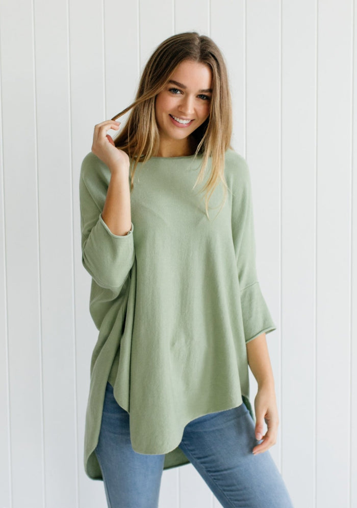 Georgie Essential Knit - Mint