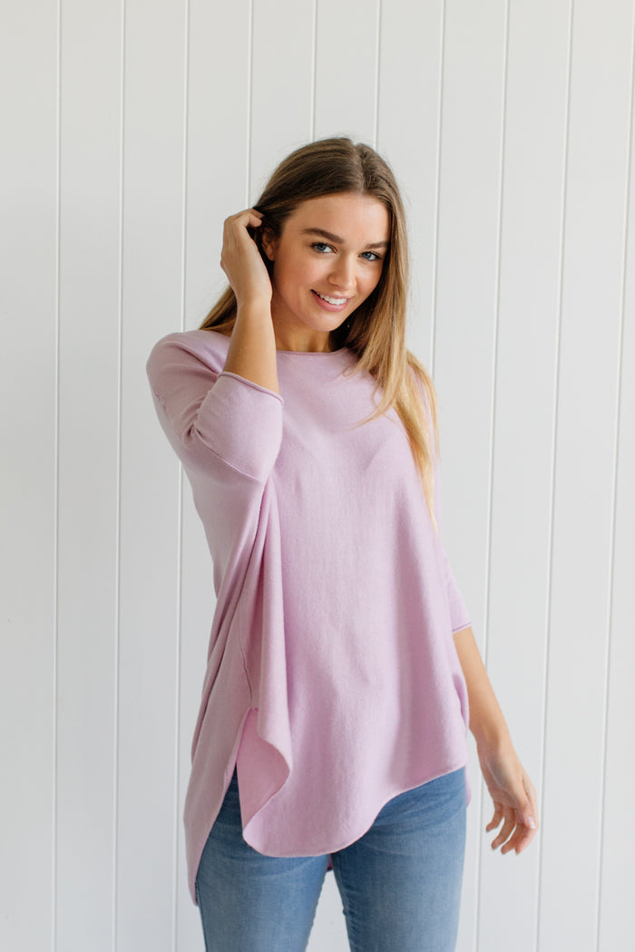 Georgie Essential Knit - Lilac