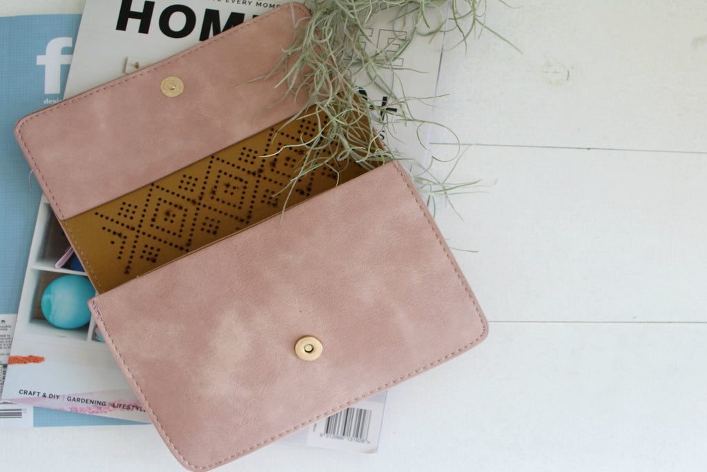 Bambi Clutch - Dusty Pink| Handbags | Betty Lane Womens Clothing Victoria