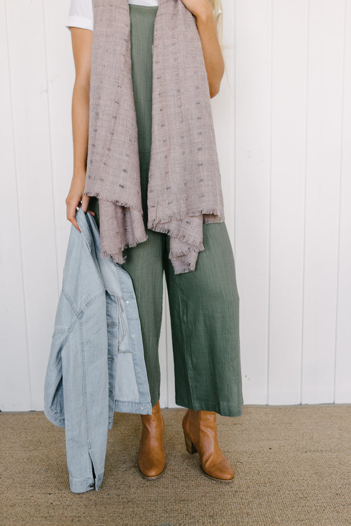 Muddy Pink Scarf|  | Betty Lane Womens Clothing Victoria