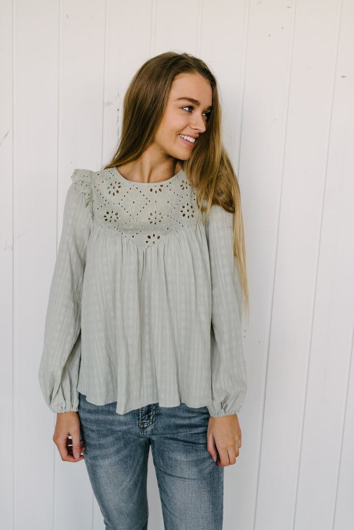 Pistachio Smock Top| summer | Betty Lane Womens Clothing Victoria