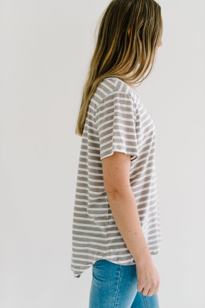 Harlem Tee| Basics | Betty Lane Womens Clothing Victoria