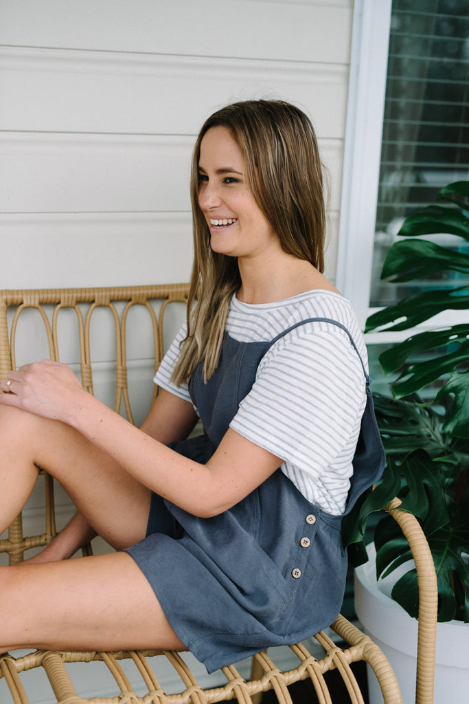 Cass Playsuit| Overalls | Betty Lane Womens Clothing Victoria