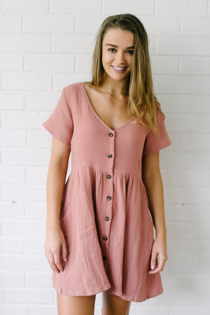 Capri Dress - Pink|  | Betty Lane Womens Clothing Victoria