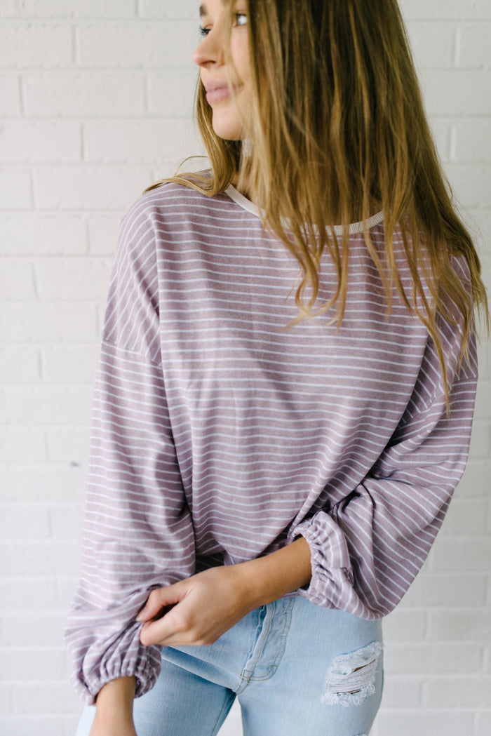 Stripey Days Top|  | Betty Lane Womens Clothing Victoria