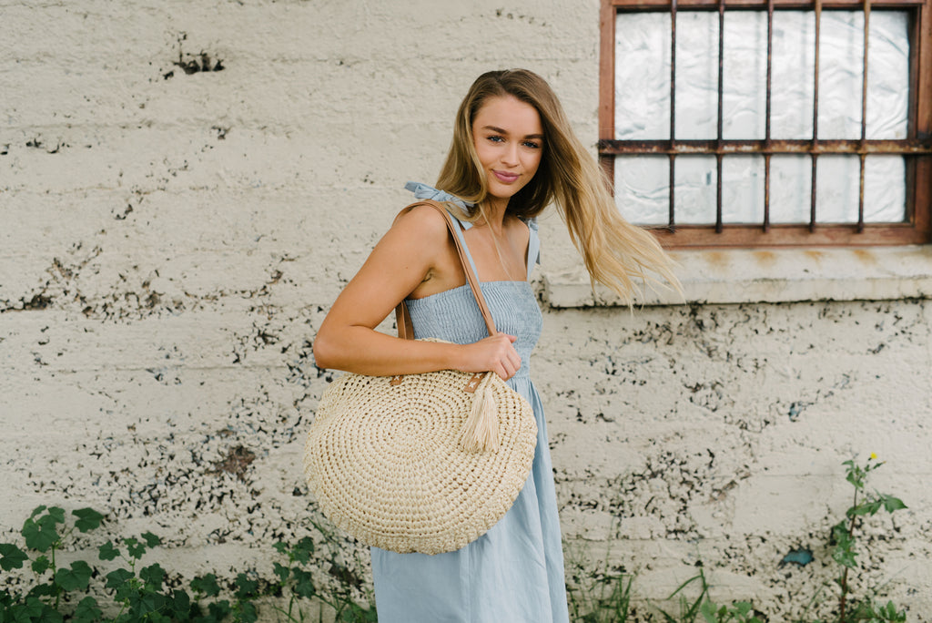 Drifter Straw Bag - Natural|  | Betty Lane Womens Clothing Victoria