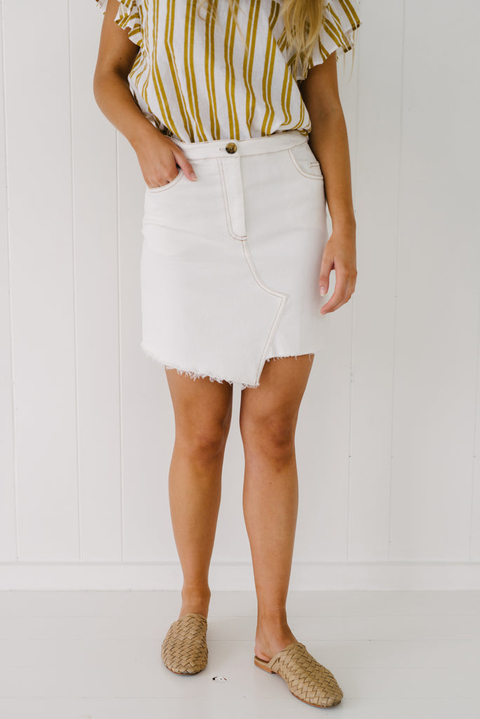 Stella Denim Skirt|  | Betty Lane Womens Clothing Victoria