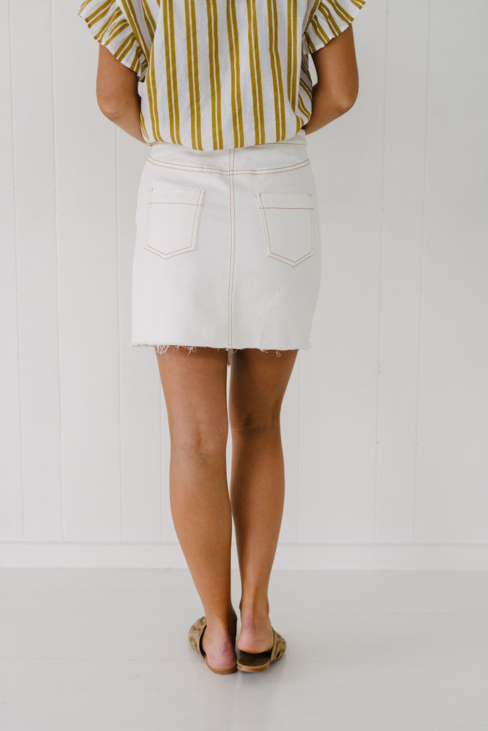 Stella Denim Skirt - Betty Lane