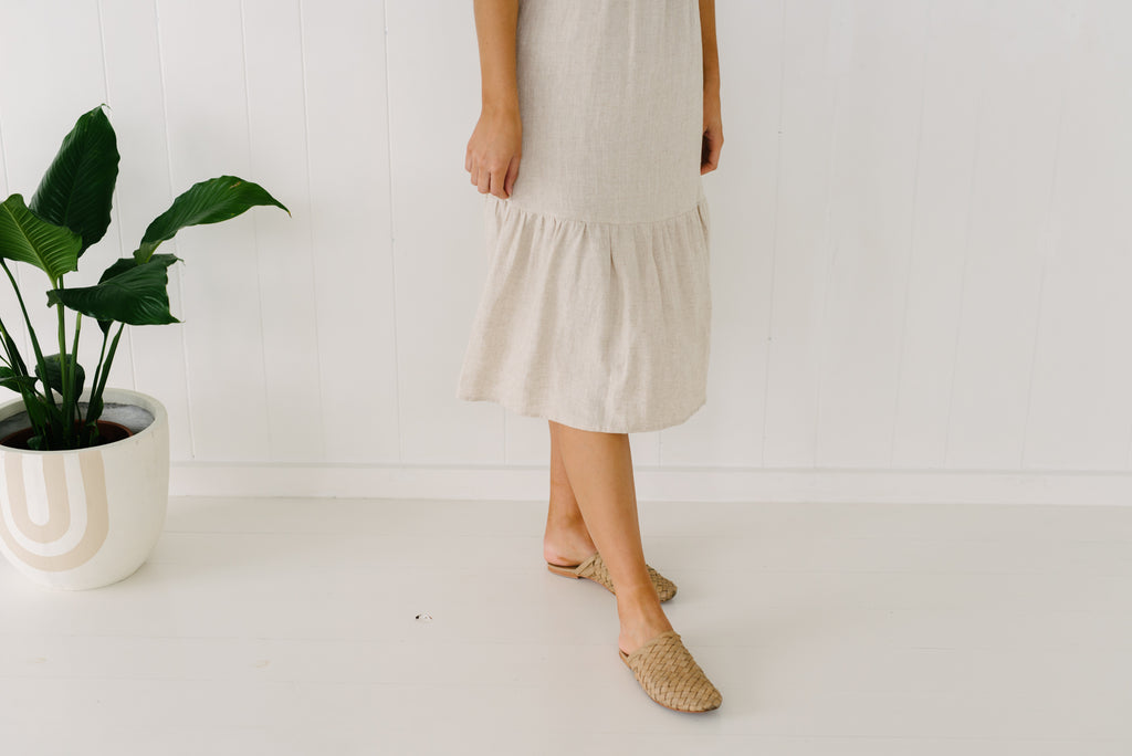Lauren Dress - Natural|  | Betty Lane Womens Clothing Victoria