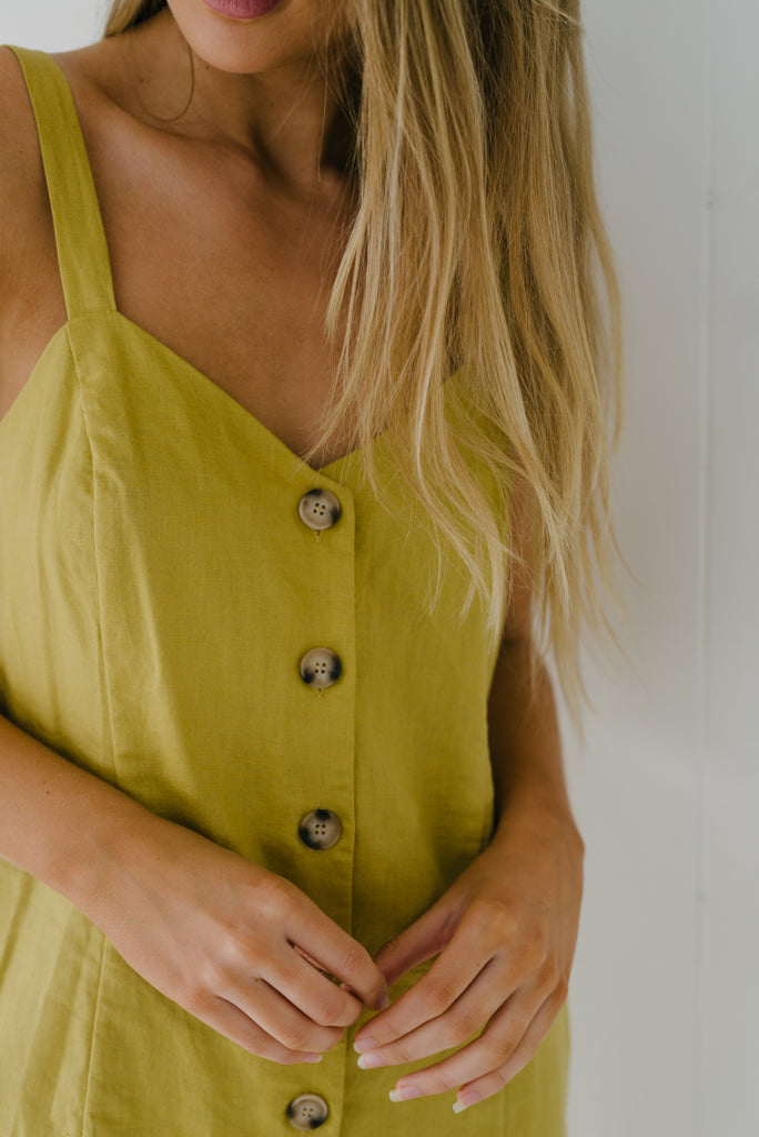 Sorrento Dress - Mustard|  | Betty Lane Womens Clothing Victoria