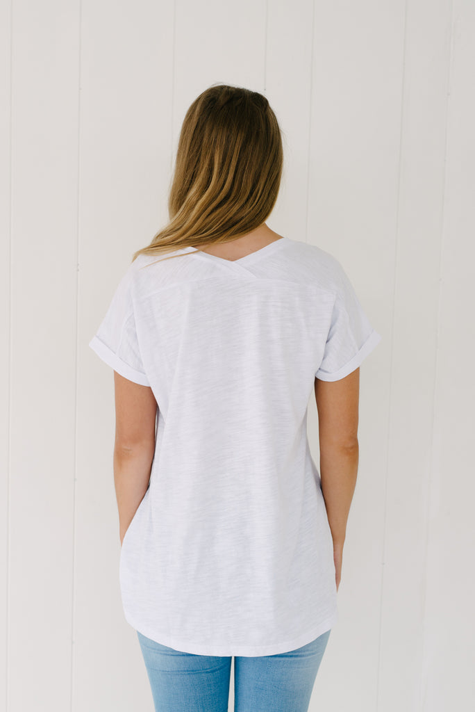 Everyday Tee - White|  | Betty Lane Womens Clothing Victoria
