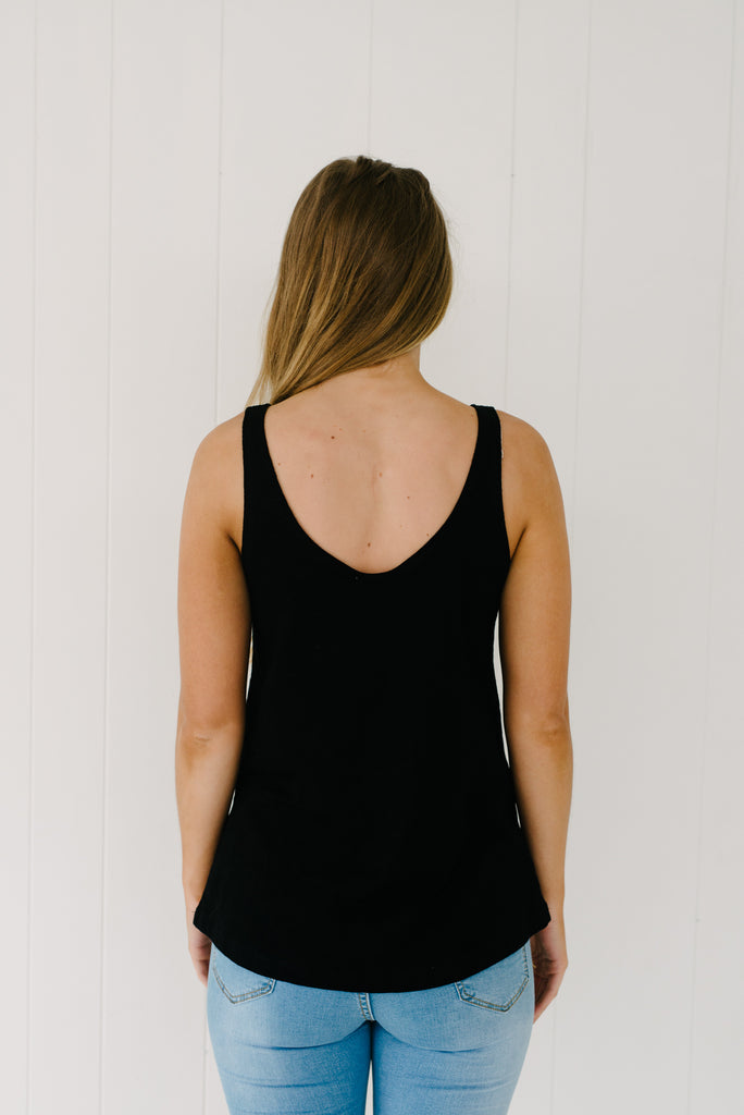 Everyday Tank - Black|  | Betty Lane Womens Clothing Victoria