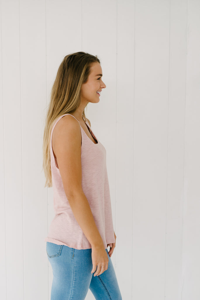 Everyday Tank - Blush|  | Betty Lane Womens Clothing Victoria