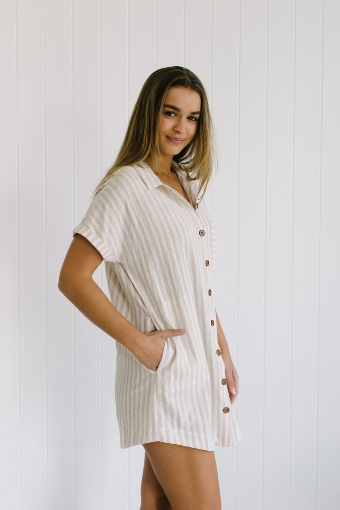 Vacation Shirt Dress