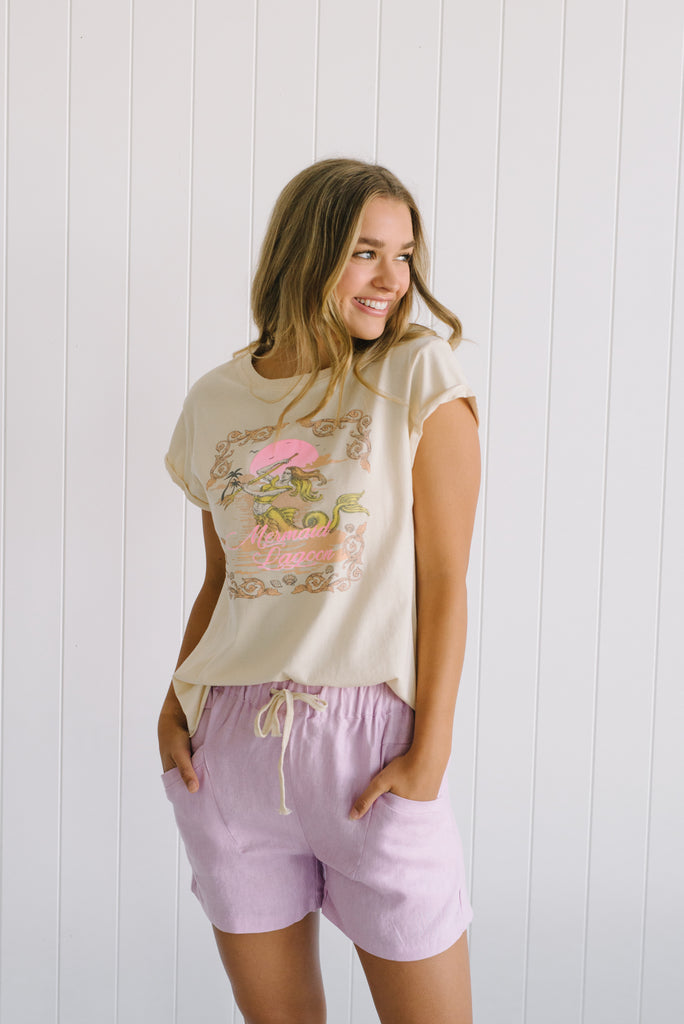 Vintage Mermaid Tee | Betty Lane Tee