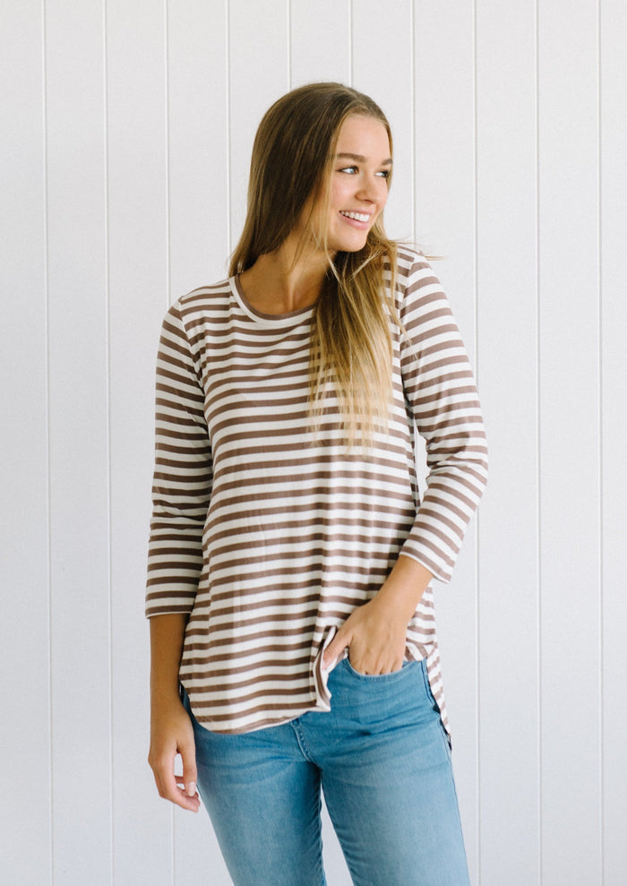 Stripes For Life Top - Betty Lane