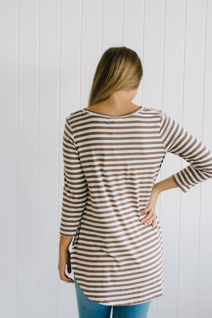 Stripes For Life Top