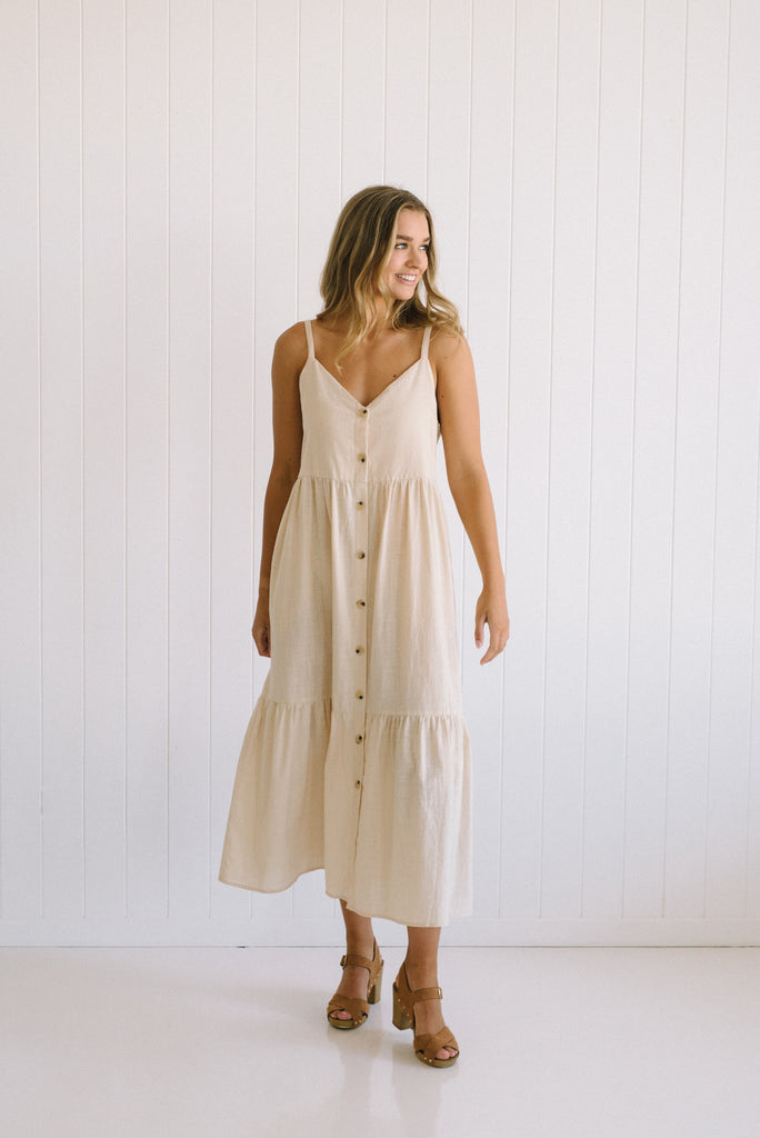 Linsey Cotton Dress