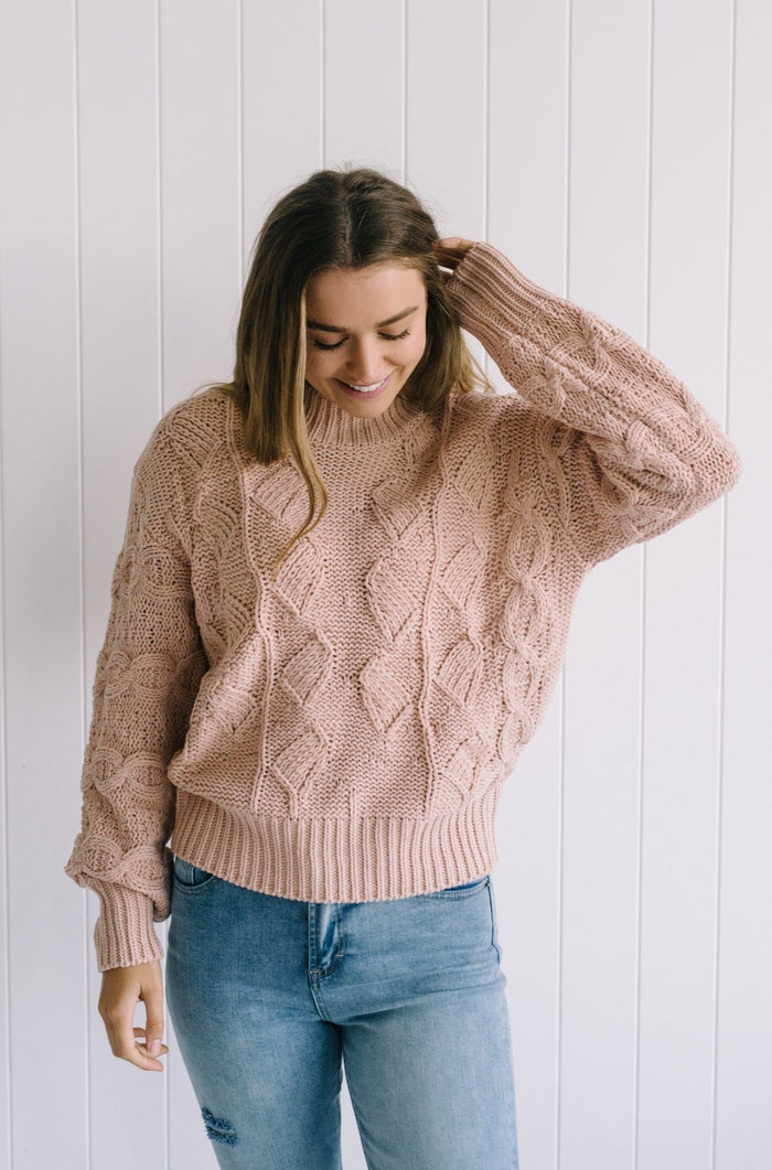 Finn-diamond-knit-blush-sweater