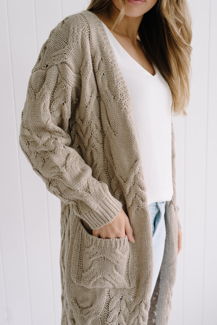 Weekend Breeze Cardi