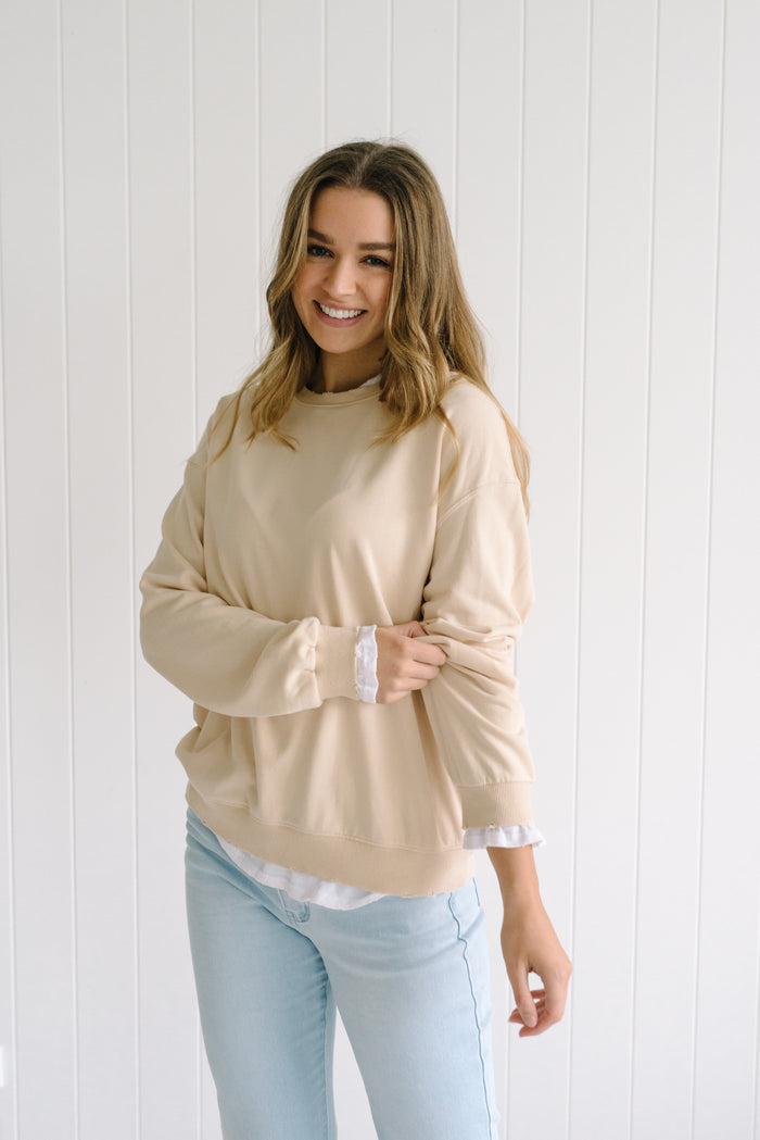 Sunday Sweater - Beige