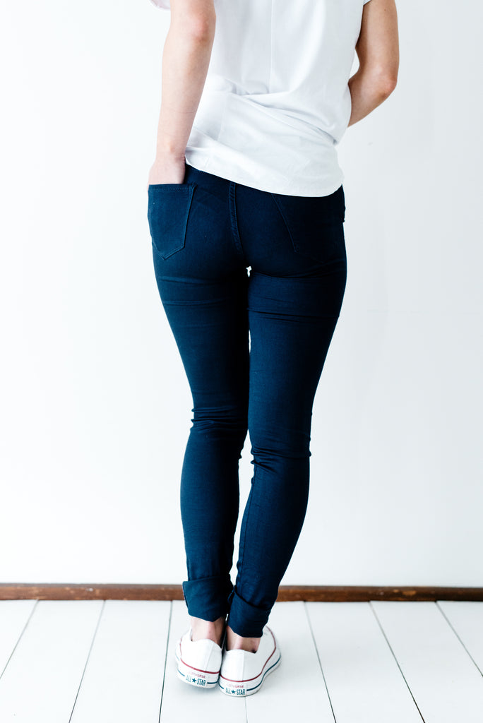 Penny Pins Navy | Betty Lane | Shop Online