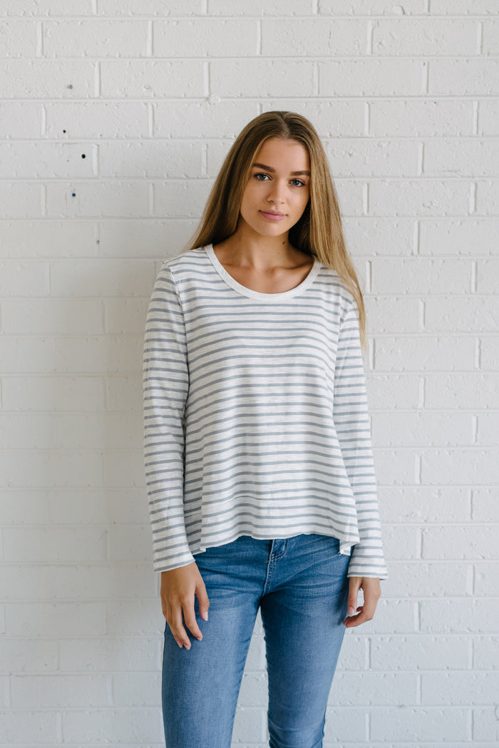 Women's stripe tee