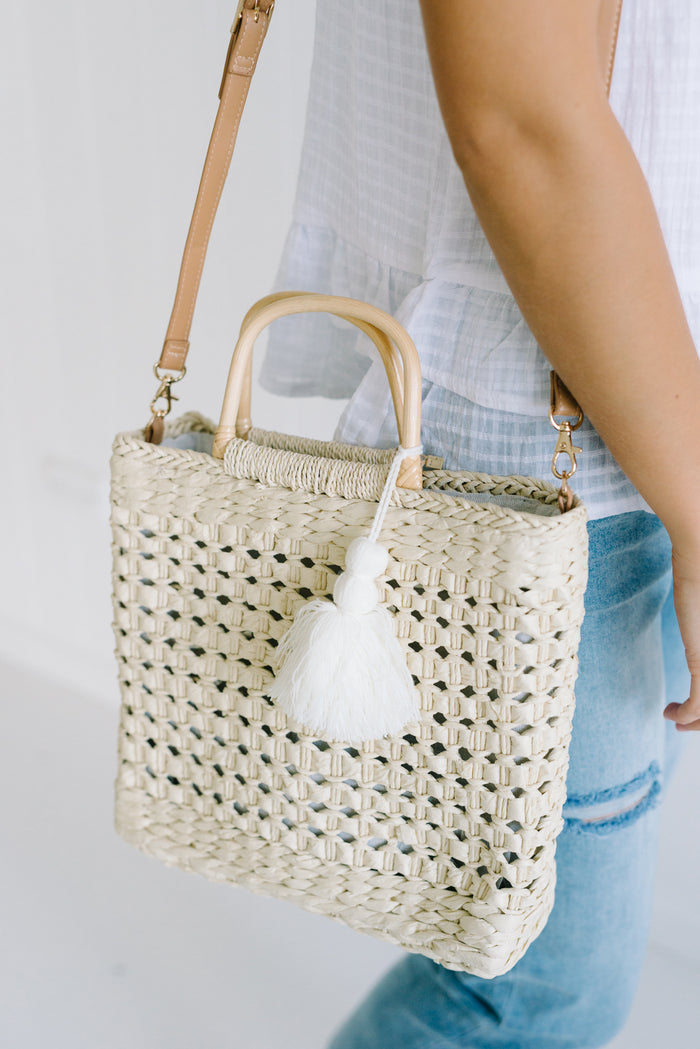 Avie Basket Bag