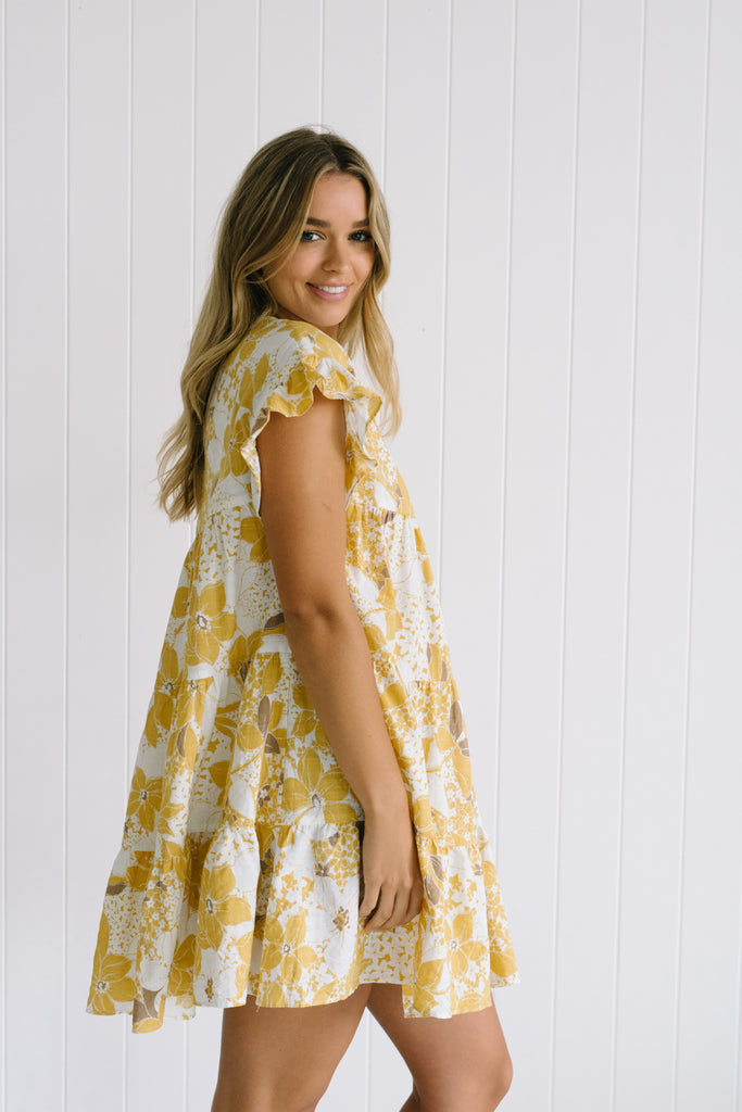 Gabby Floral Dress - Betty Lane