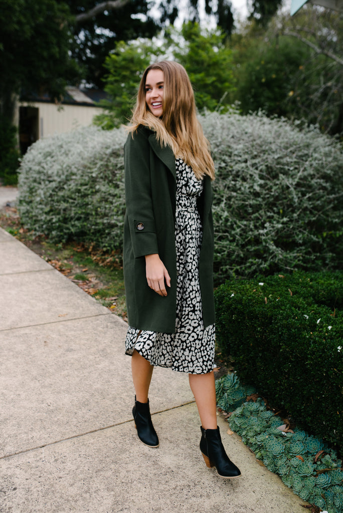 Women's Green Coat