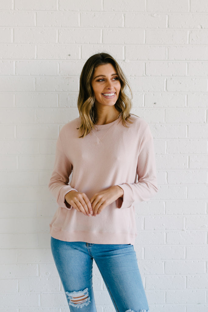 Ryder Cosy Sweater - Blossom