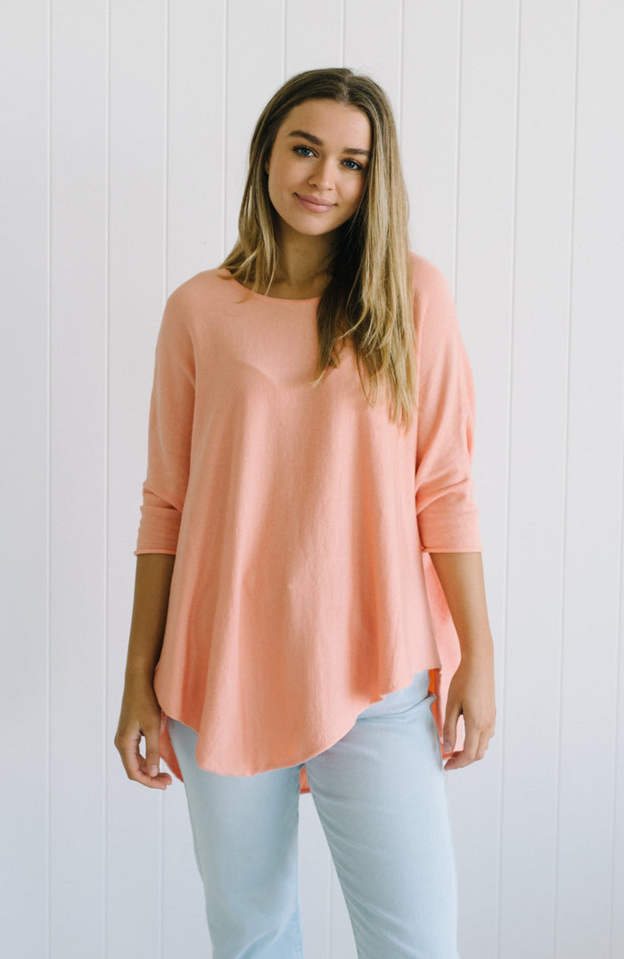 Georgie Essential Knit - Peach