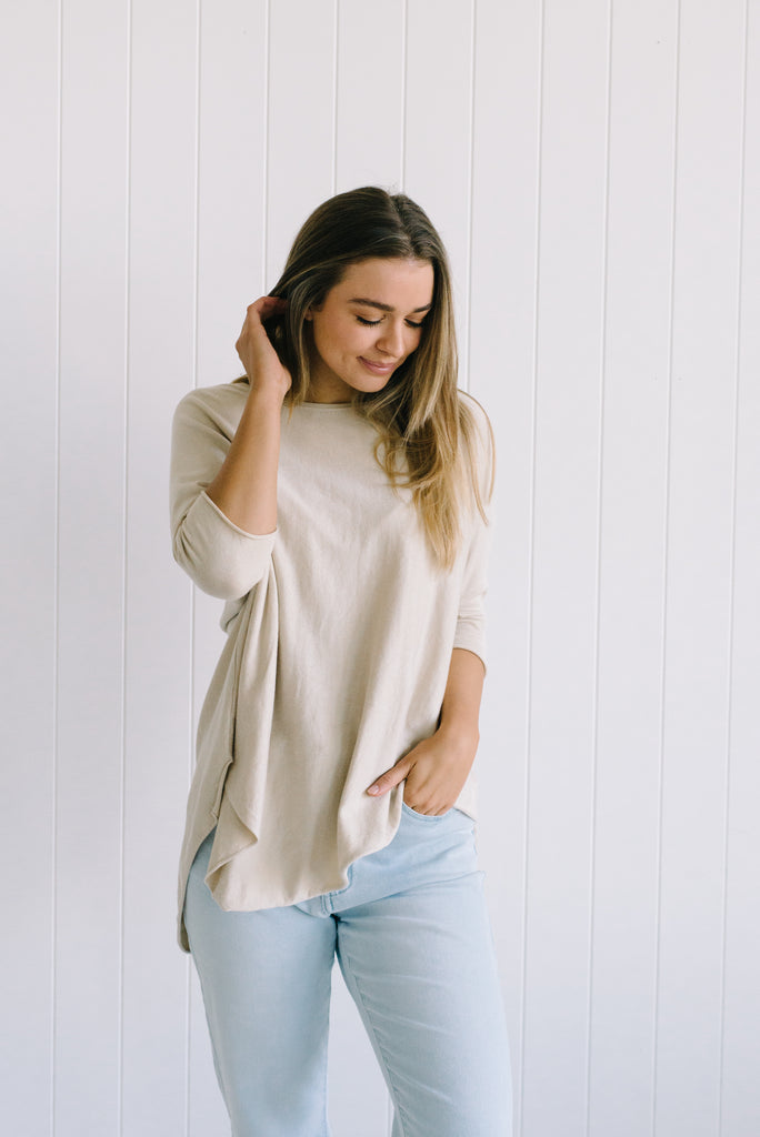Georgie Essential Knit - Sand