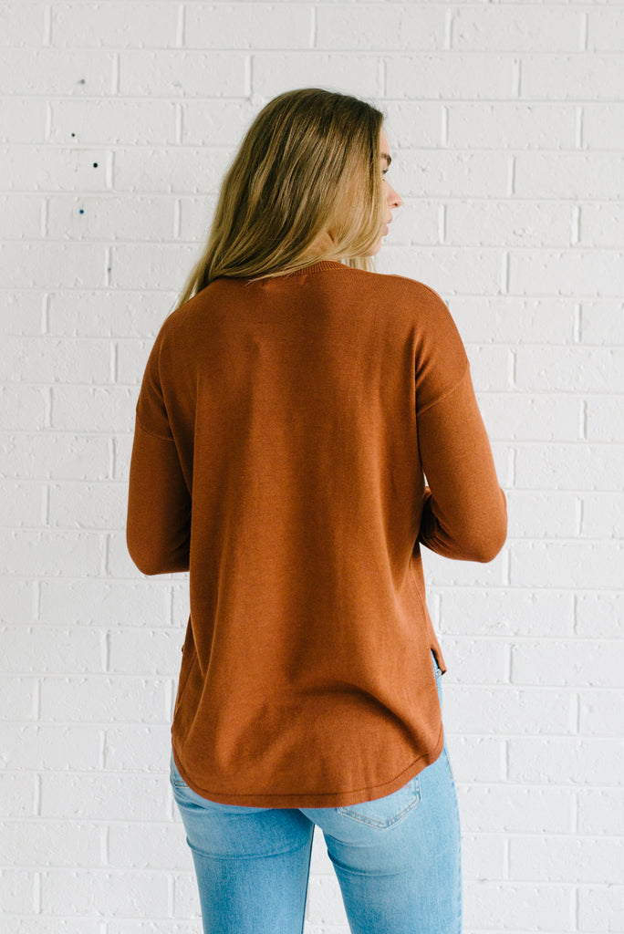 Easy Knit - Rust