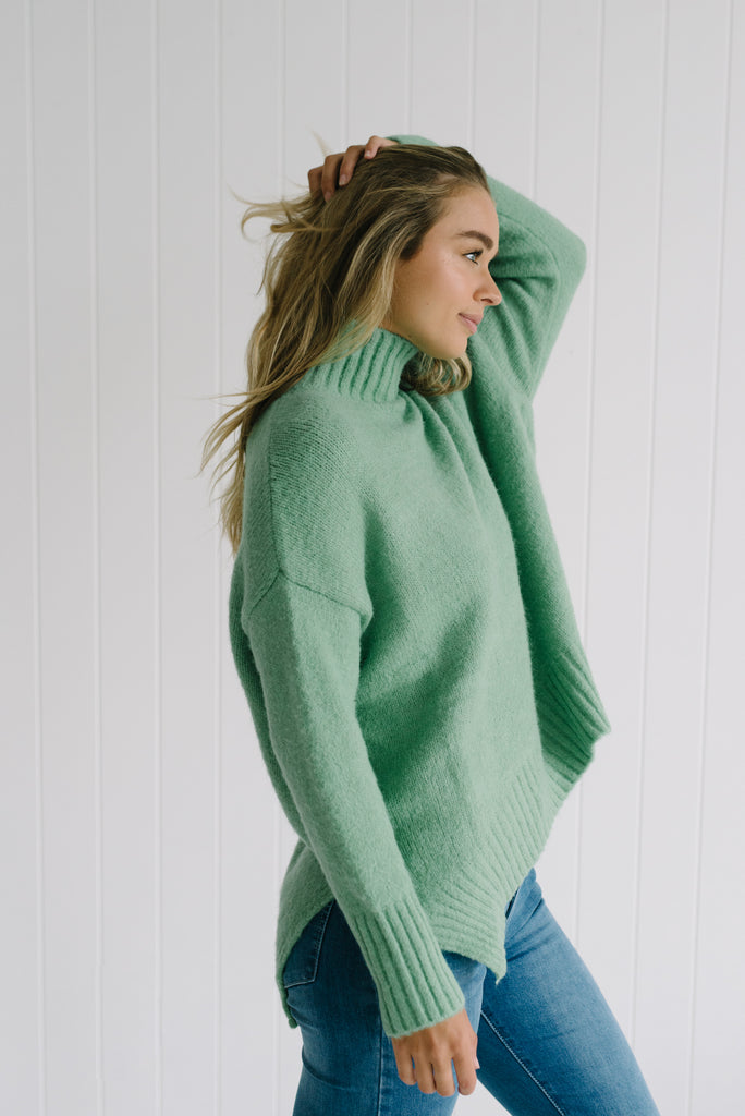 Long Weekend Knit - Lime