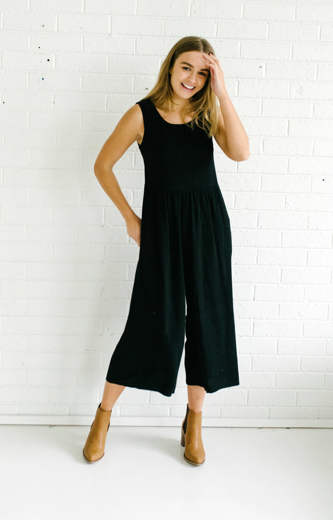 Evergreen Jumpsuit - Black