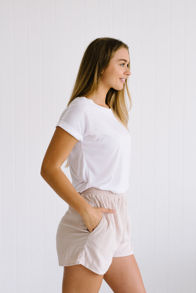 Dune Cotton Shorts