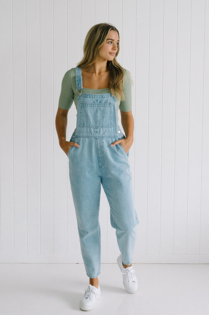 Betty Lane | Women's Denim Overalls