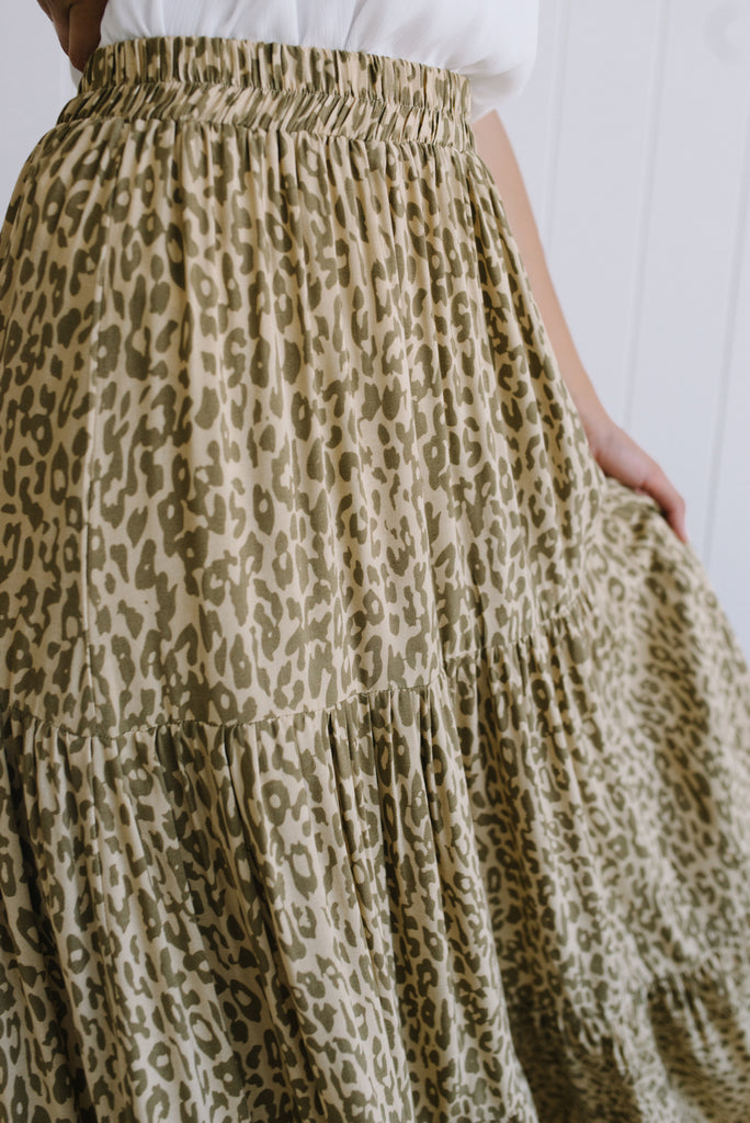 Serengeti Maxi Skirt