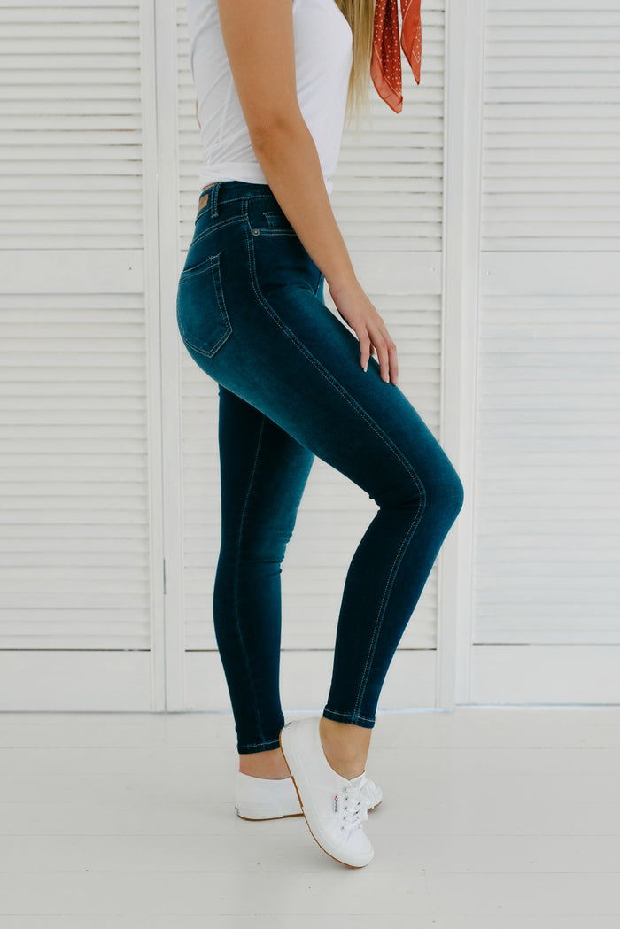 Khloe Jeans - Ink| Pants | Betty Lane Womens Clothing Victoria