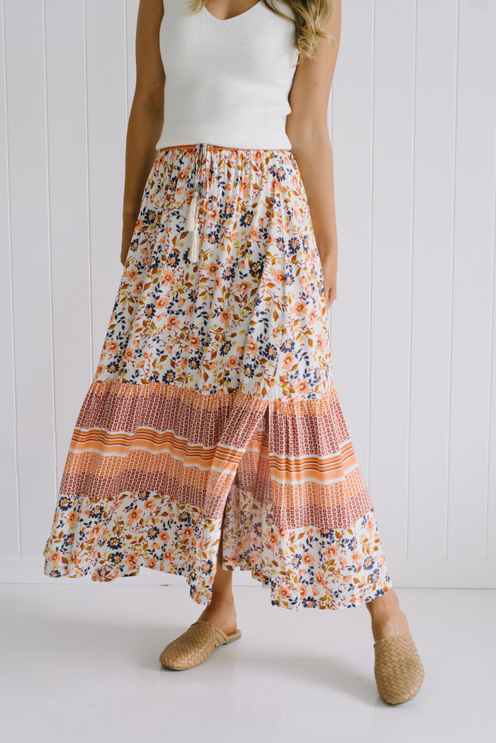 Float On Maxi Skirt