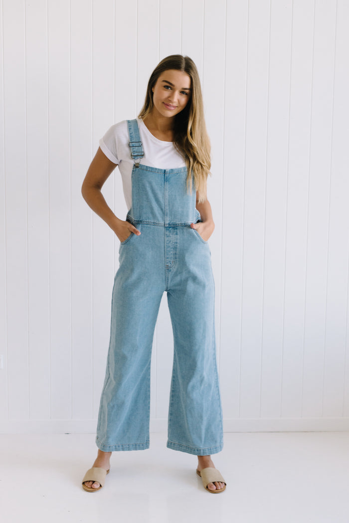 Carter Denim Overalls