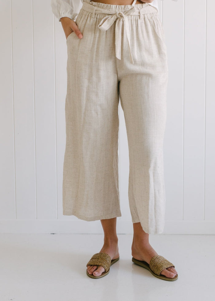 Piper Linen Pants - Betty Lane