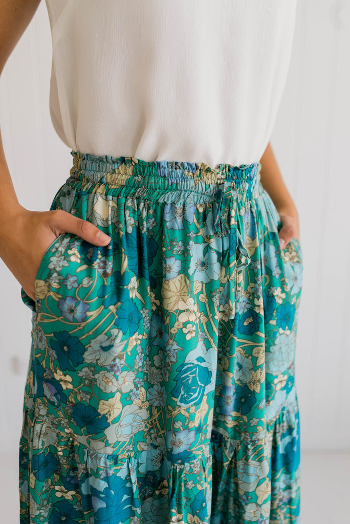 Bluebell Maxi Skirt - Betty Lane