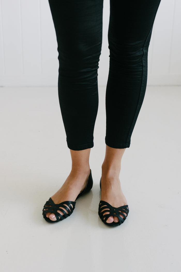 Basil Slip On - Black